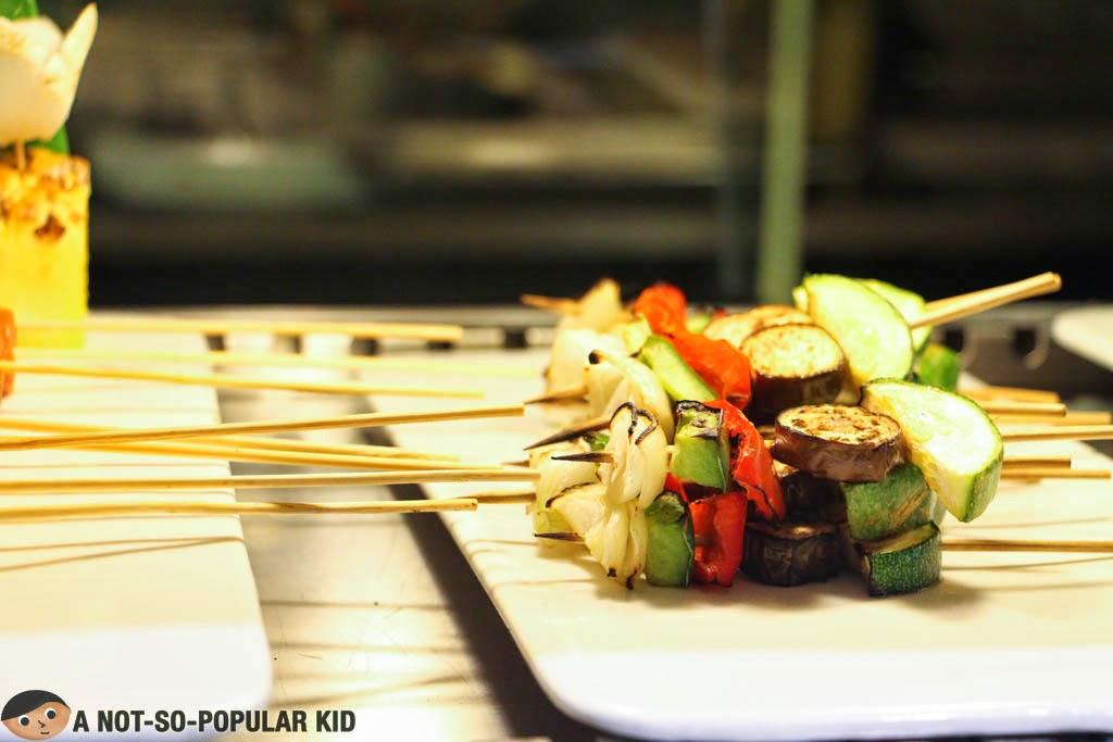 Vegetable Brochette in Vikings