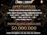 Lomba Harian dan Jackpot Lxgroup