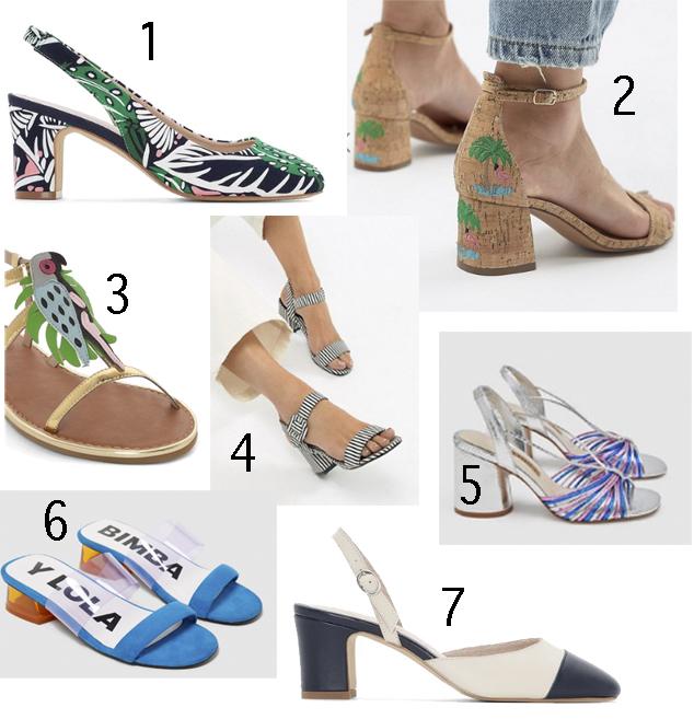 28efc72b88cd DE LUNARES Y NARANJAS  7 zapatos diferentes para tus looks de ...