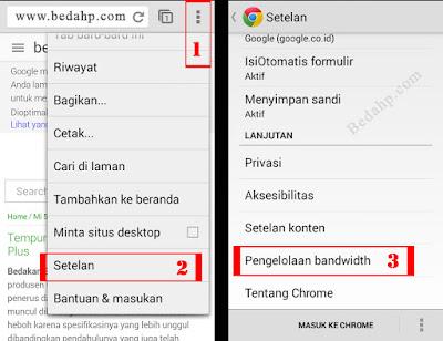 Mode Hemat Bandwidth