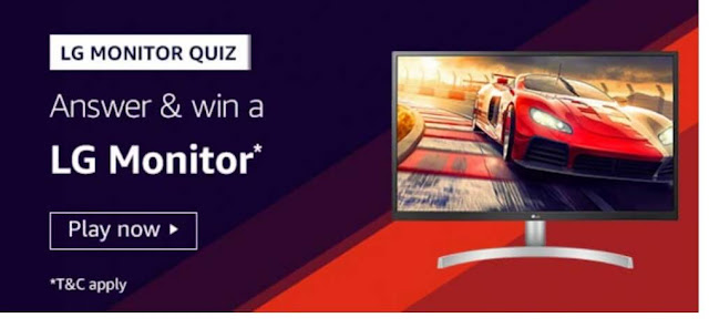 Amazon LG Monitor Quiz Answers