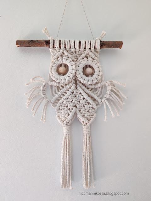 macrame owl DIY
