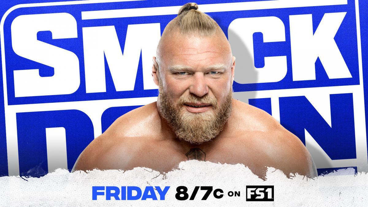 Brock Lesnar é anunciado para o próximo Friday Night SmackDown