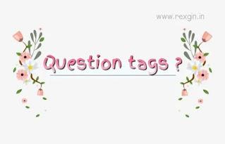 question tag in hindi - English Grammar