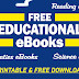 EDUCATIONAL eBOOKS (Math, Science, Reading) Free Download