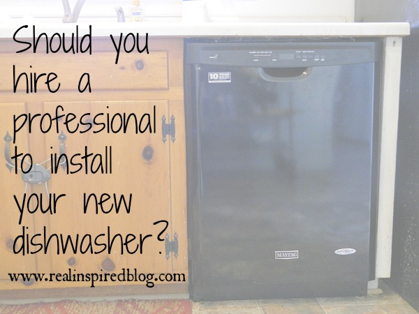 Why You Should Hire a Professional Plumber to Install Your New Maytag Dishwasher