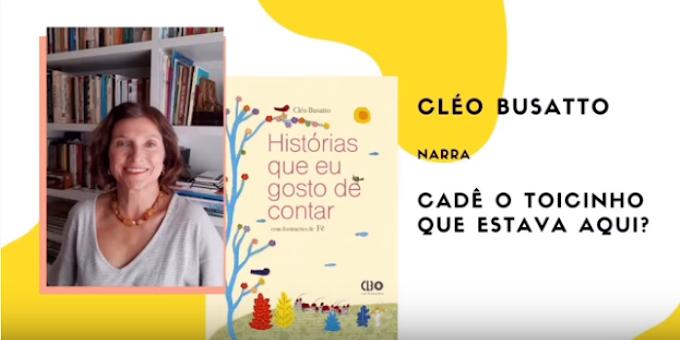 Escritora narra histórias para divertir e acalmar as crianças na quarentena