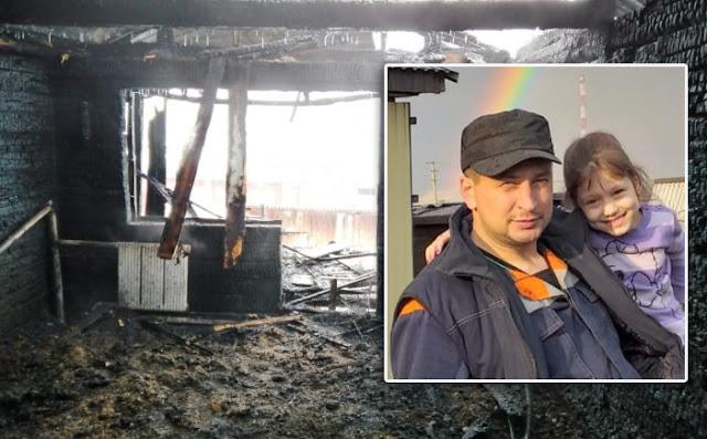 В Барабинске в день рождения местной жительницы сгорели её муж и 6-летняя дочь