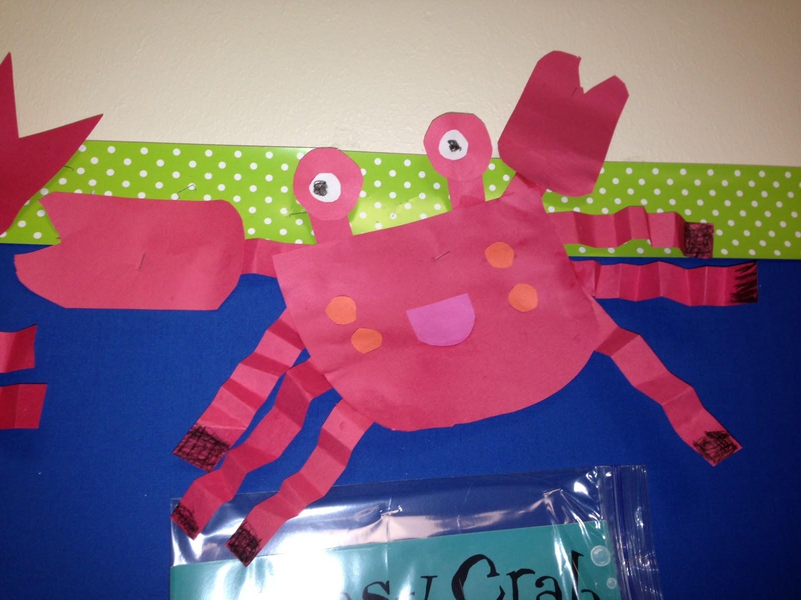 Chalk Talk A Kindergarten Blog The Clumsy Crab