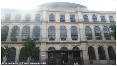 Madrid; Viagem Europa; Turismo na Espanha; Real Conservatório de Música de Madri