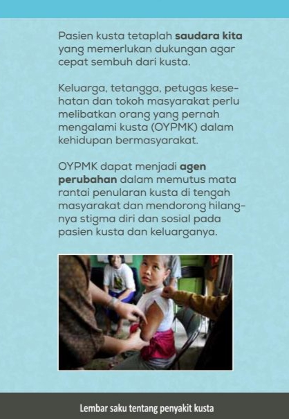 support untuk penderita kusta