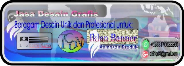 Jasa Desain Grafis - Beragam Desain Unik dan Profesional Untuk: Icon, Iklan Banner, Kemasan Produk, Dll - Hubungi +6283170622260