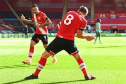 EPL Chief Everton Overwhelmed 2-Zero At Southampton For 1st Loss