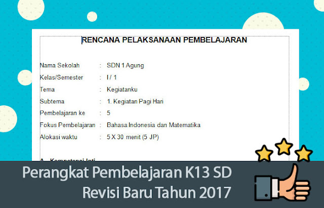 Perangkat Pembelajaran K13