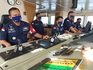 KN Chundamani Berhasil Evakuasi Korban Tubrukan Kapal di Perairan Lombok