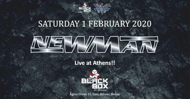 NEWMAN: Σάββατο 1 Φεβρουαρίου @ Black Box Methodia