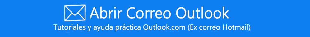 Abrir Correo Outlook - iniciar sesion - Outlook.com