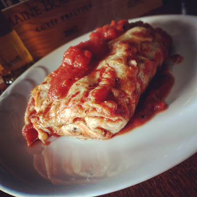 Wegetariańskie enchiladas