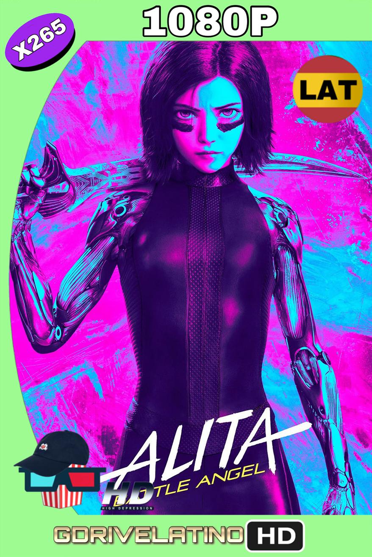 Alita Ángel de Combate (2019) BDRip 1080p x265 (Latino-Inglés) MKV