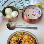 Prawn Biryani Recipe | Pressure Cooker Prawn Biryani | Shrimp Biryani