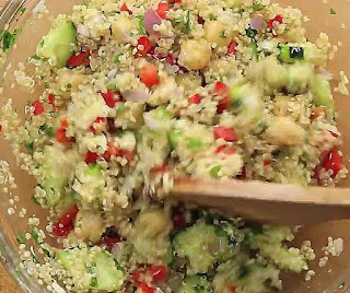 how to make quinoa salad step by step