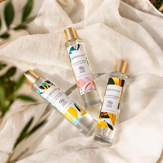 eaux de parfum bio berdoues, parfums berdoues, parfums bio, parfums naturels, parfums bio berdoues, berdoues parfums, parfum vegan, parfum fleur d'oranger, parfum fleur de tiaré, parfum jasmin
