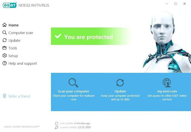 Download Eset Nod32 Antivirus 13.0.24.0 Final Full Version Terbaru 2021 Free Download