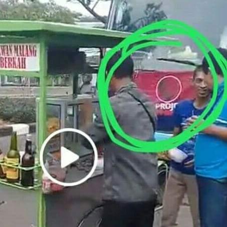 Netizen Heboh! Rombongan Projo Pesan Bakso 7 Gerobag Cuma Bayar 500 Ribu