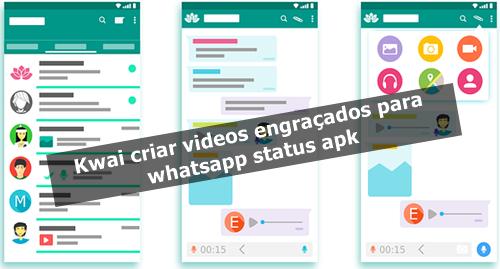Kwai criar videos engraçados para whatsapp