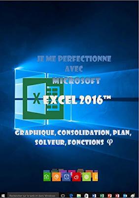 Je me perfectionne avec Excel 2016: Graphiques, consolidation, plan, nom, solveur... - Joël Green