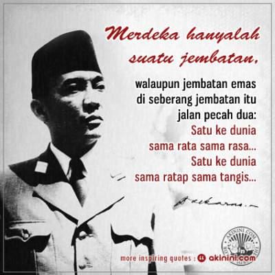 24 Kata Bijak Mutiara Soekarno