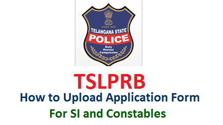 how-to-submit-apply-upload-online-for-sub-inspector-si-constables-tslprb.in