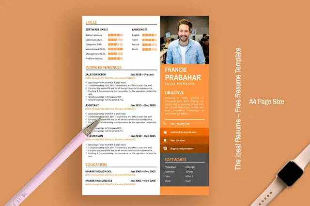 The Ideal Resume – Free Resume Template For Word