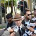 Ex-general Percival Peña llega al Palacio Nacional y solicita entrevista con el presidente