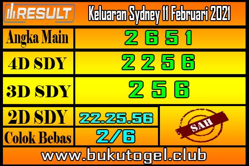 Keluaran Sydney 11 Februari 2021