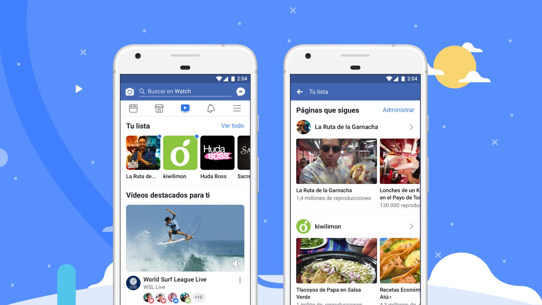 Facebook Watch: más de 1.250 millones de personas todos los meses