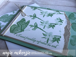 Global Creative INKspirations - New Annual Catalog | CARD/ENVELOPE FRONT:  Butterfly Wishes by Stampin' Up!® | Nature's INKspirations by Angie McKenzie