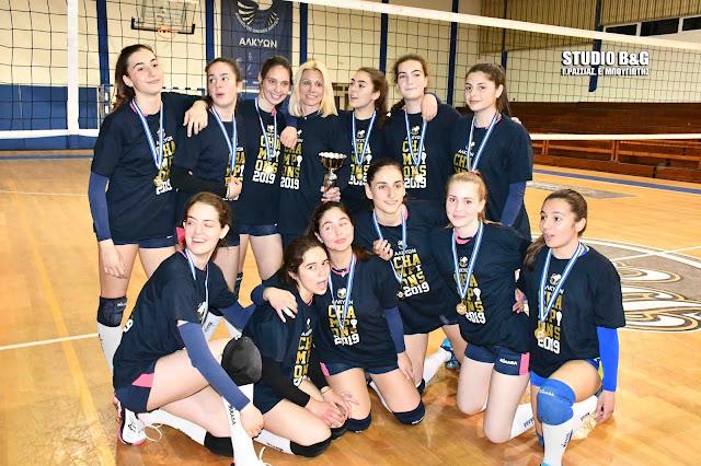 Πρεμιέρα στο Πρωτάθλημα της Β΄Εθνικής για τα κορίτσια της Αλκυών Ναυπλίου
