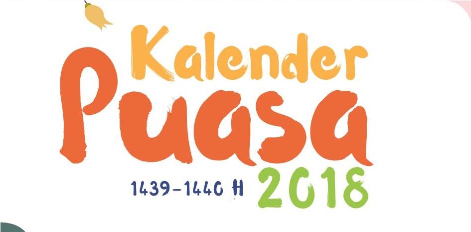 Download Kalender Puasa 2018 Desain oleh Syukr