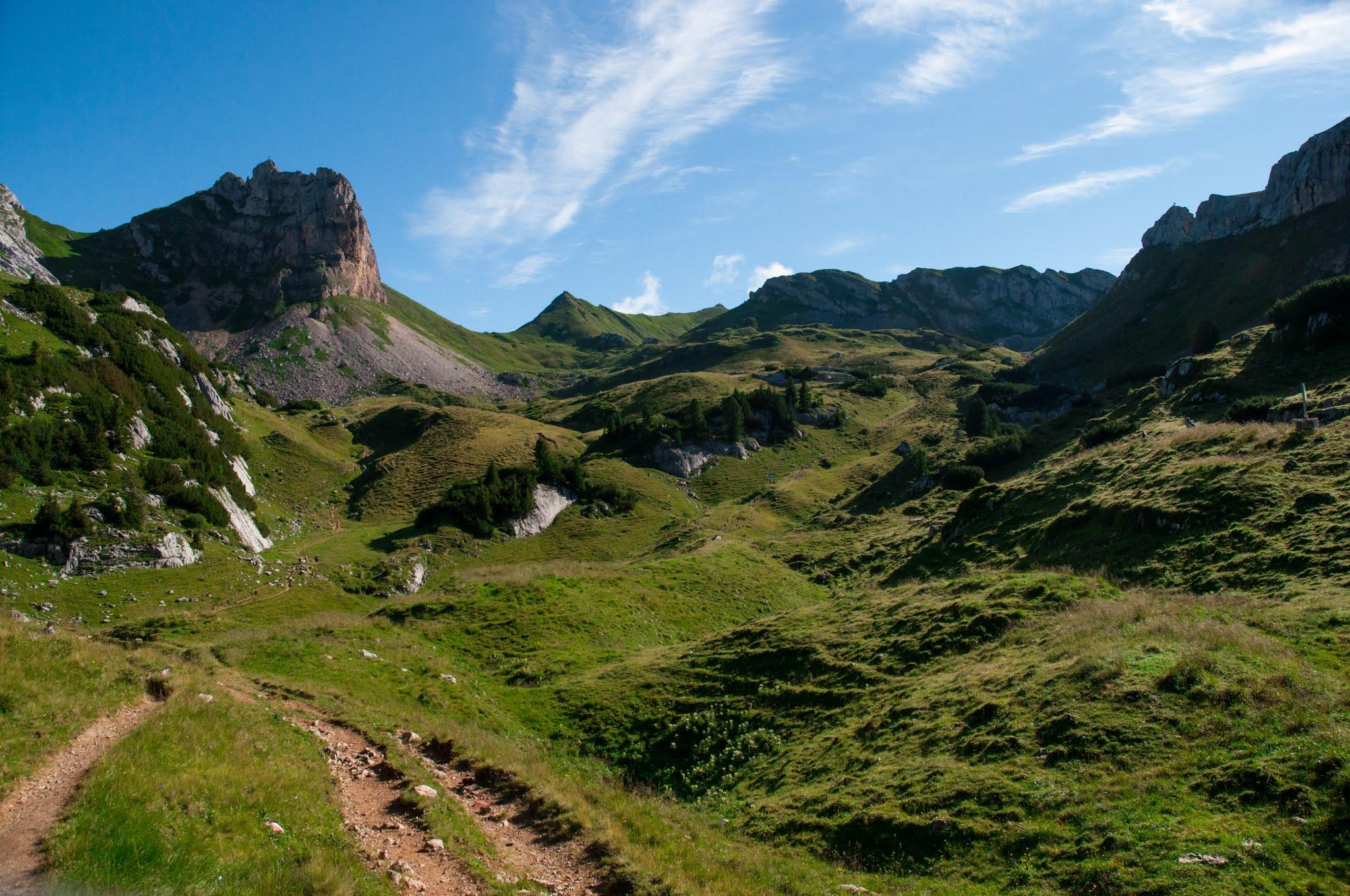 Pohoří Rofan - Tyroly, Rakousko