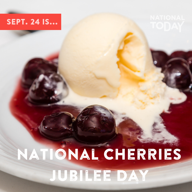 National Cherries Jubilee Day Wishes