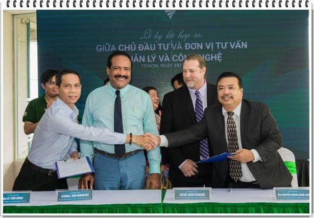 Công ty Nguyên Hanh Lợi ký hợp tác với tập đoàn (USA) World Enterprise Group làm đơn vị tư vấn quản lý công nghệ