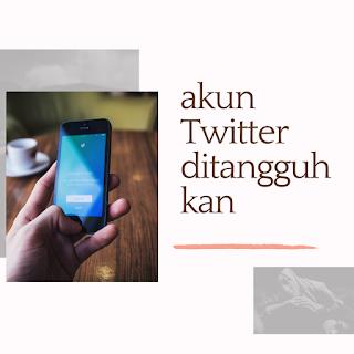 Akun Twitter yang ditangguhkan