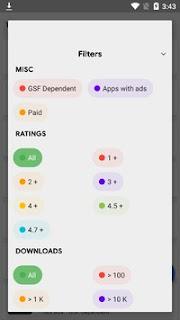 Aurora Store Mod Apk 4.0.2 (Stable) 2