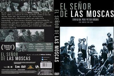 Carátula dvd: El señor de las moscas