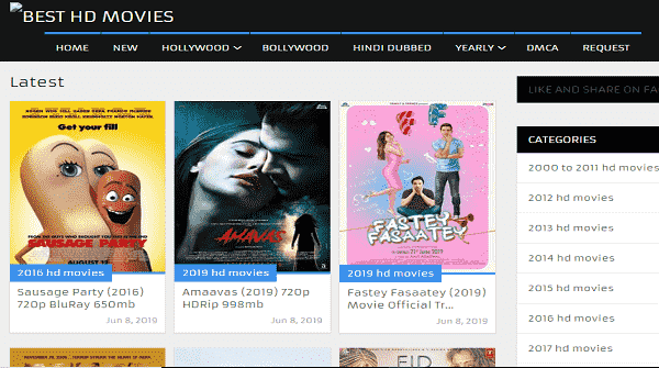 Free Hindi Movie Download in HD Quality - 10 Excellent websites