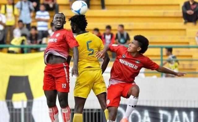Martapura FC vs Barito Putera