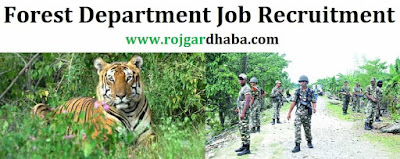 Forest Department Vacancy