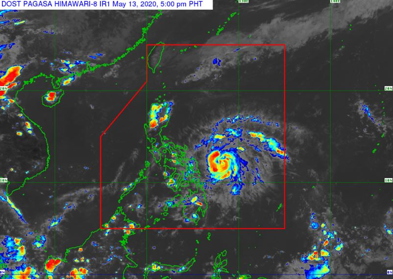 'Ambo' intensifies into severe tropical storm