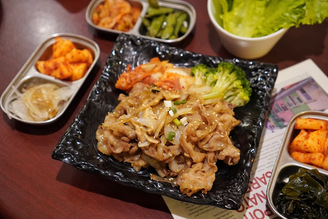 台南安平區美食【瑪西達韓式料理】二人超值套餐